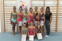 Akrobatyka - Mistrzostwa Warszawy Juniorów