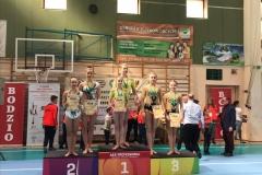 Nadia Jasińska i Maja Mickiewicz na 3. miejscu podium